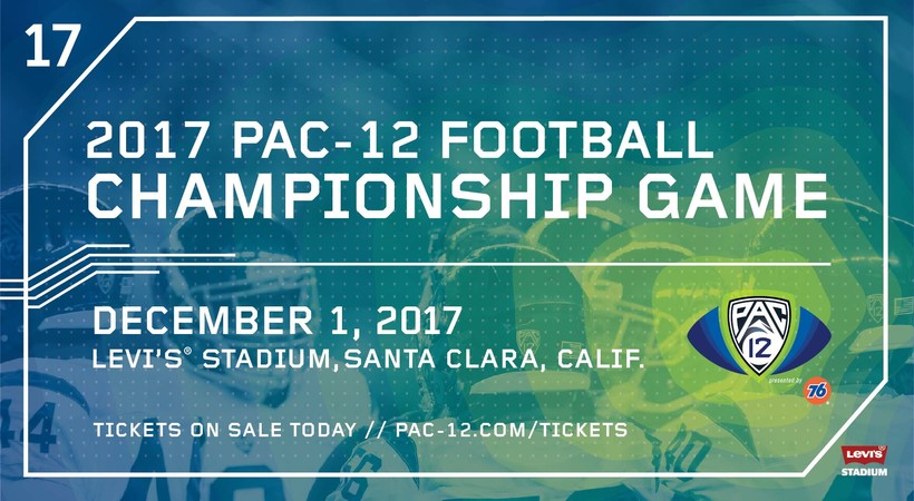 Buy your Pac-12 Football Championship Game tickets now!