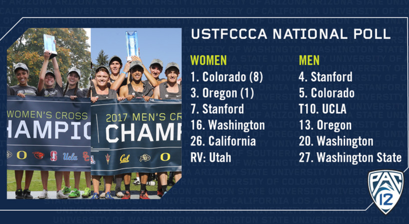 San Francisco A National Best 11 Pac 12 Cross Country Teams Including The Top Ranked Colorado Women Among Six 10 Will Be Nationally