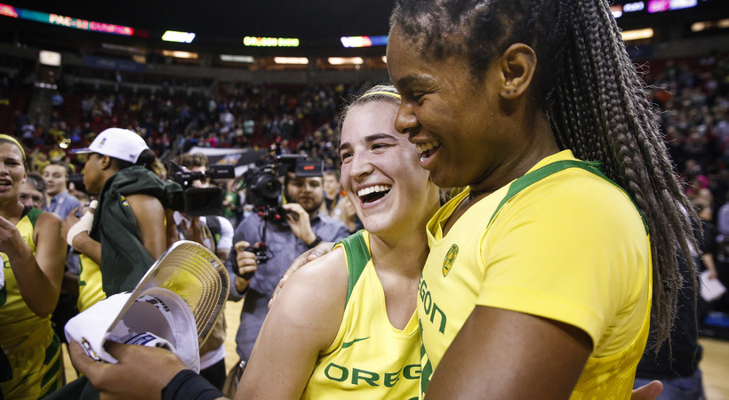 2018 Pac-12 Women's Basketball Tournament: Oregon's Sabrina Ionescu drops 36 points, breaks Pac-12 Tournament Championship game record