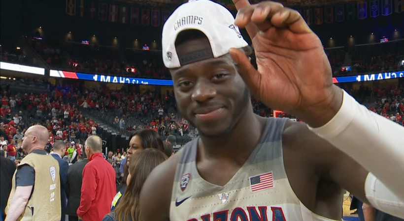 Arizona's Rawle Alkins reflects on Pac-12 Tournament title: 'It's a blessing'