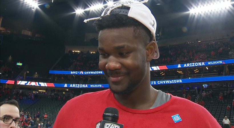 Deandre Ayton after catapulting Arizona men's basketball to Pac-12 Tournament title: 'This is unbelievable'