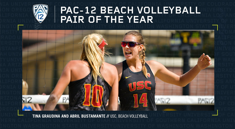 Pac-12 announces beach volleyball awards | Pac-12