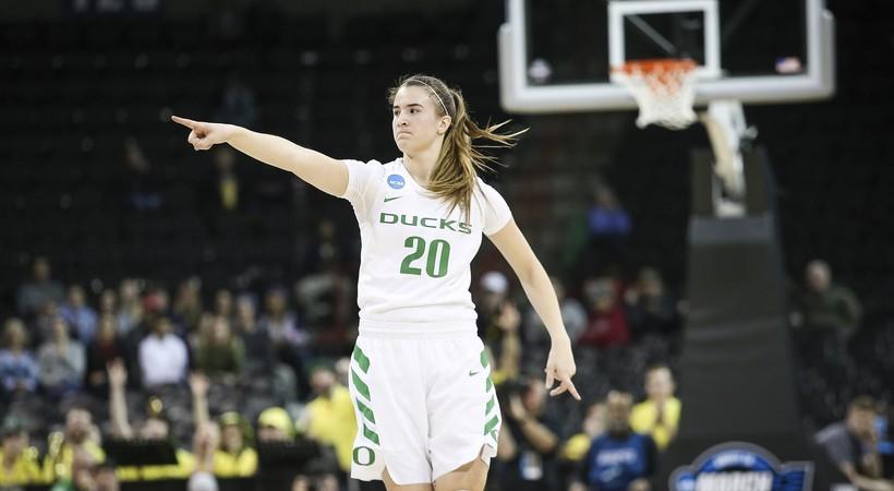 Ruthy Hebard, Sabrina Ionescu Send Oregon Ducks To Elite 8