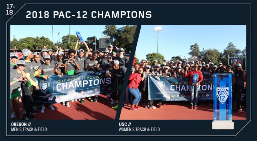 2018 Pac-12 Track & Field Champions