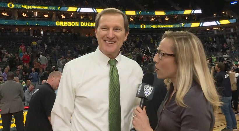 2019 Pac-12 Men's Basketball Tournament: Dana Altman proud of his team's resolve in Las Vegas: 'It shows a lot about their character'