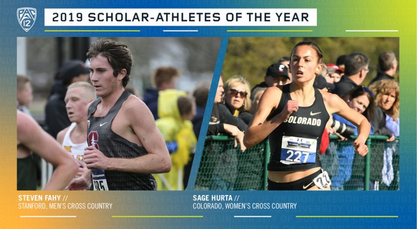 2019 Pac-12 Cross Country Scholar-Athletes of the Year