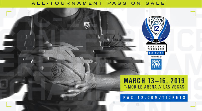 2019 Pac-12 Men's Basketball Tournament returns to Las Vegas and T