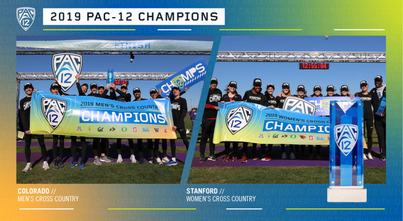 2019 Pac-12 Cross Country champions