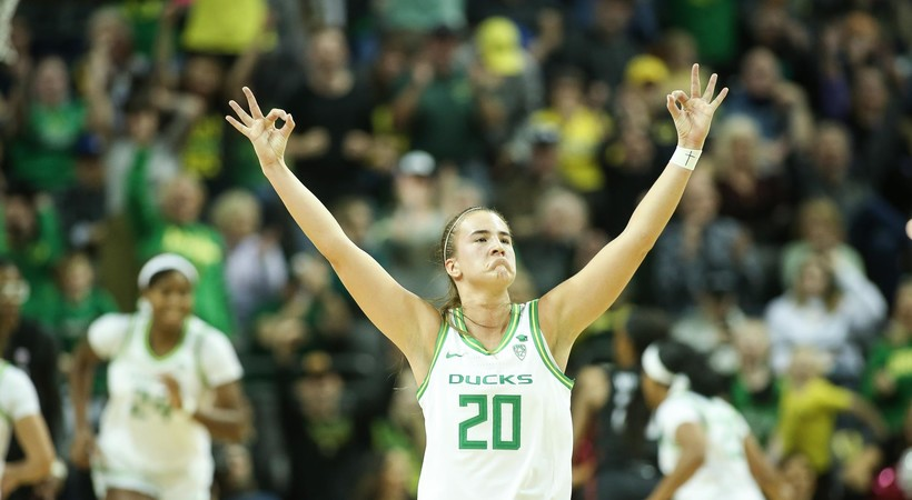 Sabrina Ionescu becomes Oregon's all-time leading scorer in memorable win over Stanford