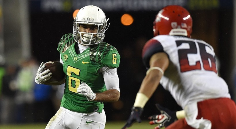 Oregon rolls past Arizona in 2014 Pac-12 Football Championship Game