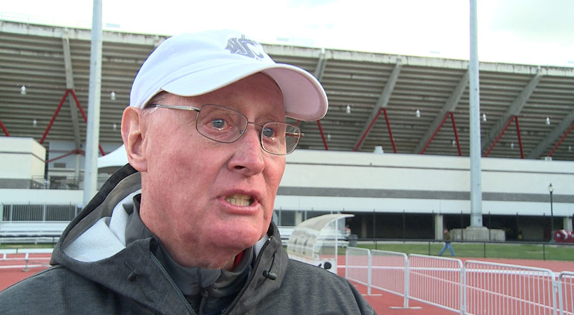 """<p>Longtime Washington State track &amp; field coach <a href=""""http://pac-12.com/videos/washintgon-state-track-field-rick-sloan-bids-mooberry-teary-goodbye"""" target=""""_blank"""">Rick Sloan shed a few tears</a> following the 2014 Pac-12 Track &amp; Field Championships on May 18, his final meet in Pullman. Sloan retired following the season after 41 years at the helm of the Cougars.</p>"""