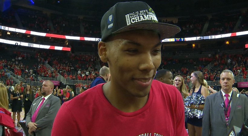 2017 Pac-12 Men's Basketball Tournament: Arizona's Allonzo Trier on taking the title: 'We rose to every challenge'