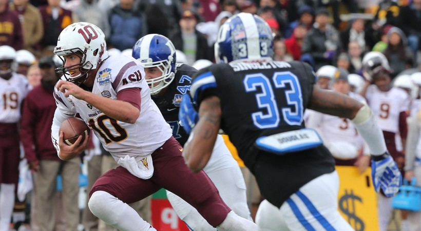 Highlights: Arizona State football outlasts Duke in Sun Bowl