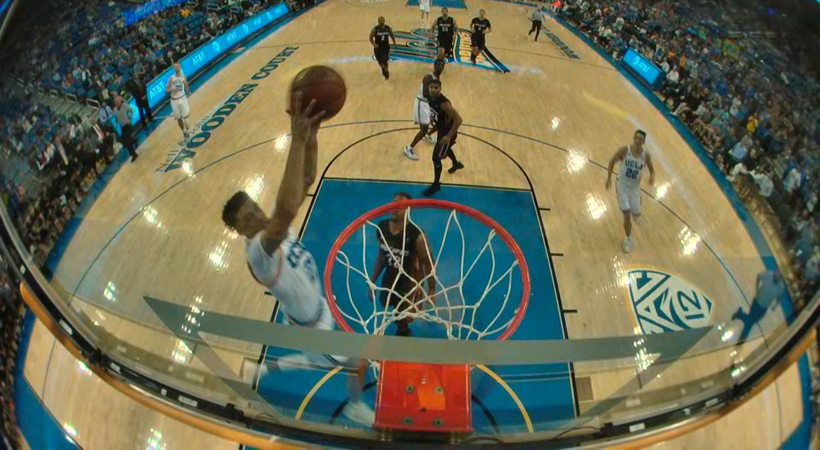 Highlight: UCLA men's basketball's Lonzo Ball and Isaac Hamilton connect for alley-oop