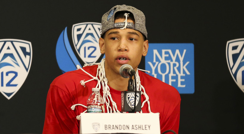 Pac-12 Tournament: Brandon Ashley wins Most Outstanding Player award