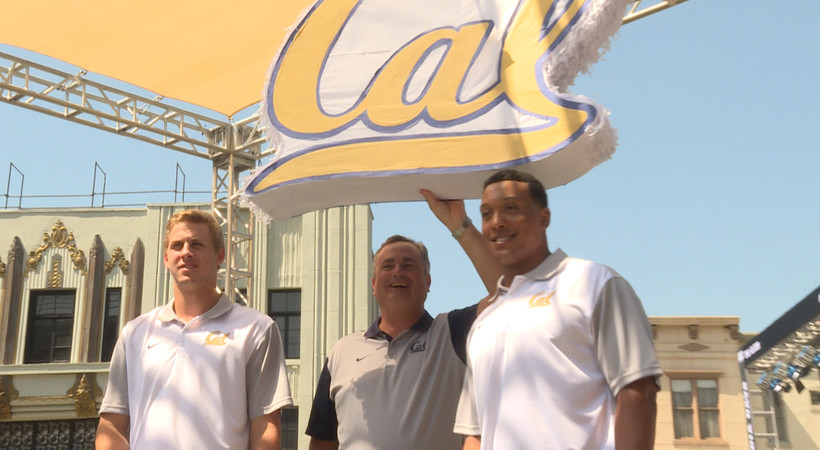 2015 Pac-12 Football Media Days: Cal takes on Tinseltown