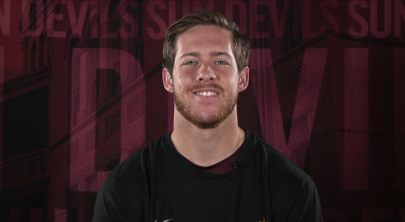 ASU's Taylor Kelly talks emotions, reaction to being named Pac-12 Scholar-Athlete of the Year