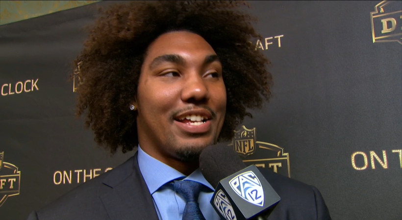 Leonard Williams after being drafted by New York Jets: 'I'm ready to get back to football'
