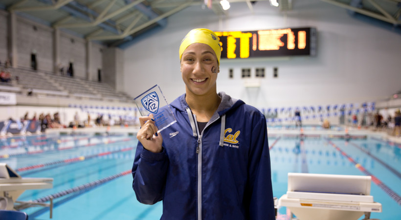 Cal's Farida Osman on record-breaking day: 'I'm really happy with how this team is right now'