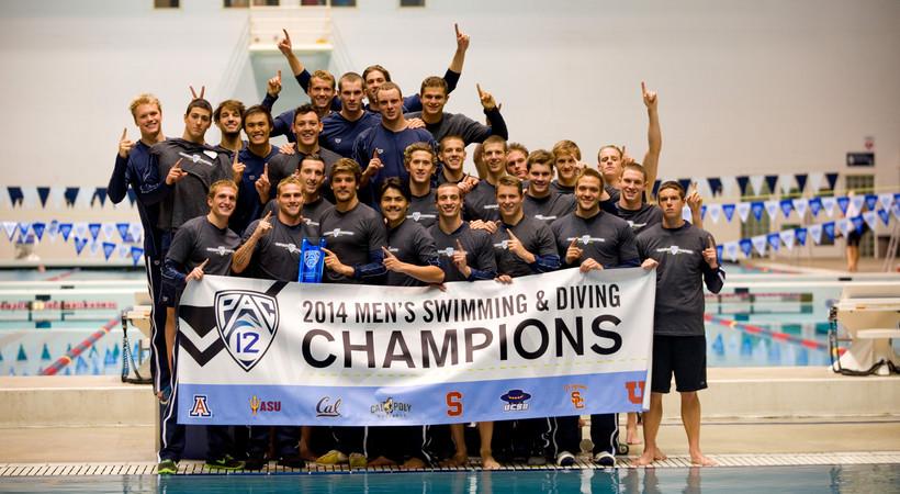 Cal men's swimming repeats as Pac-12 champions
