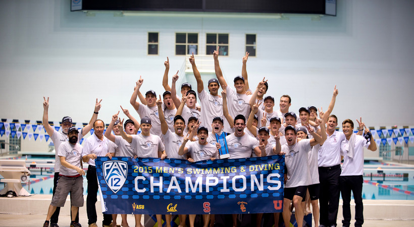 USC wins first Pac-12 Men's Swimming Championships title in over thirty years