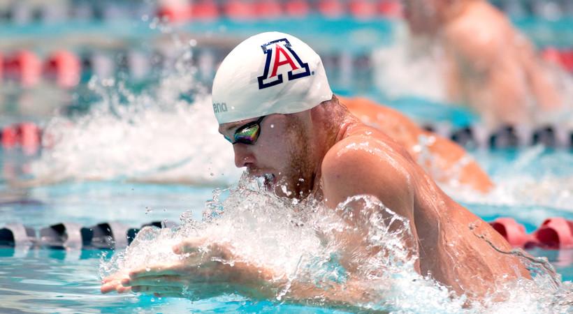 Arizona men's swimming Kevin Cordes