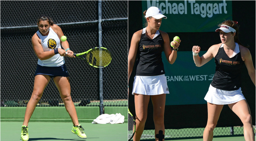 Manasse Claims Singles Title, Arizona State's Osborne and Panoho Win Doubles Championship
