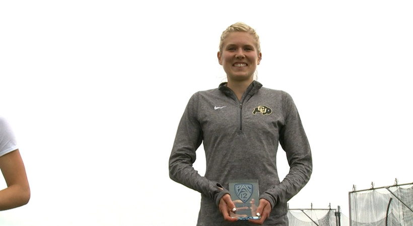 Colorado's Clark on setting Pac-12 women's steeplechase record: 'It means the world to me'