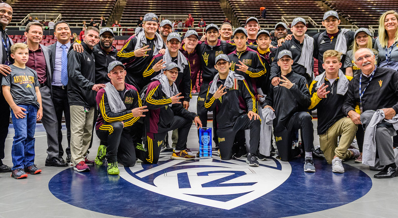 Arizona State captures 2017 Pac-12 Wrestling Championship