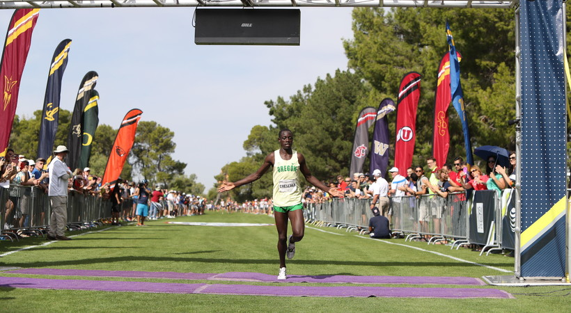 Recap: Cheserek makes history, CU takes team title at 2016 Pac-12 Cross Country Championships
