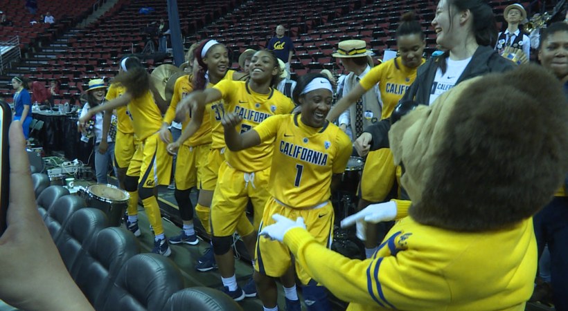 Check out the best dance moves from the 2016 Pac-12 Women's Basketball Tournament