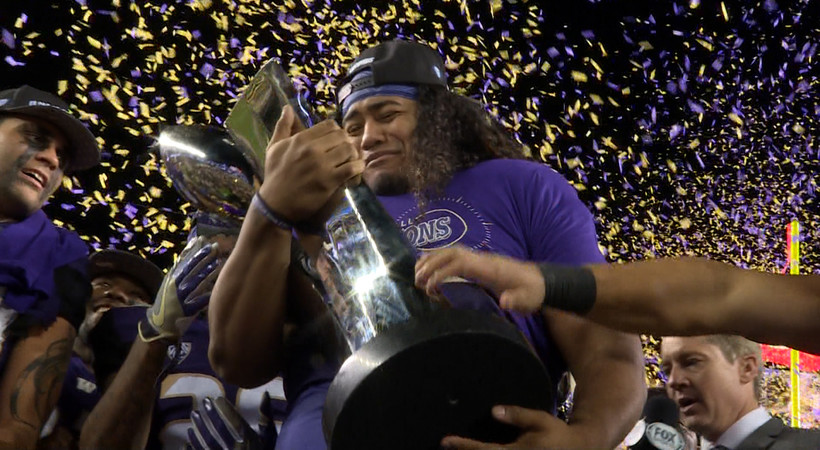 2016 Pac-12 Football Championship Game: Washington revels in first conference title since 2000