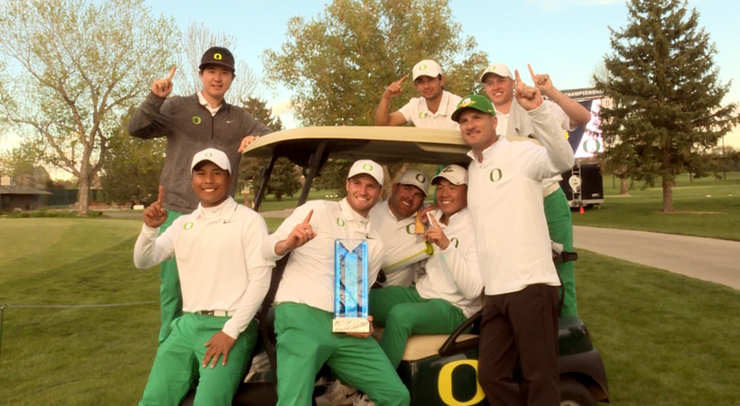 2017 Pac-12 Men's Golf Championships: Oregon celebrates first outright title in school history
