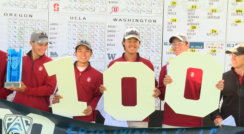 Stanford takes home Pac-12 men's golf title for third straight year