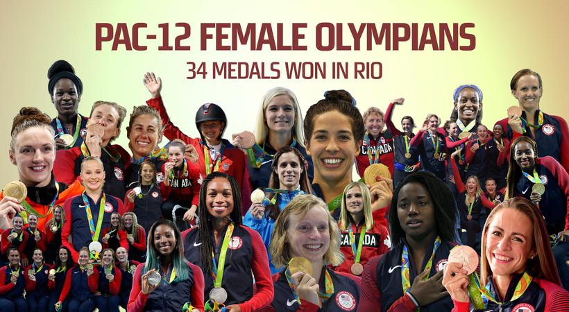 Pac-12 female athletes shine in 2016 Rio Olympics