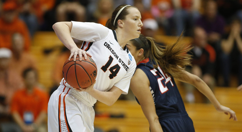 Highlights: Oregon State women's basketball bounced out of NCAA tournament by Gonzaga