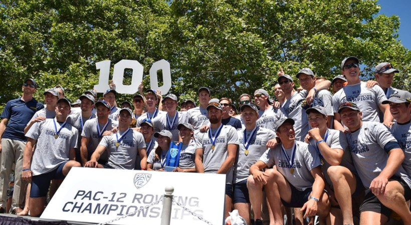 California sweeps Pac-12 men's and women's rowing championship titles