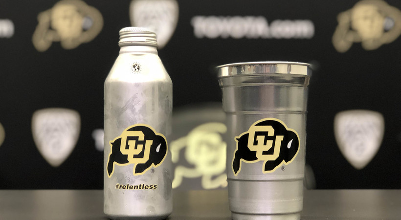 CU Boulder, Ball introduce game-changing aluminum cup at Folsom Field (CUBuffs.com)