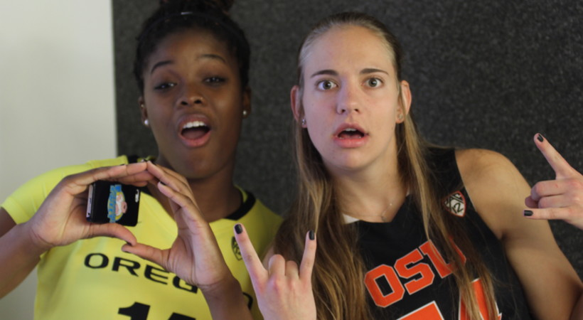 Pac-12 Women's Basketball Media Day photo gallery: Behind the scenes