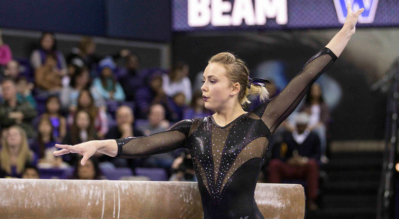 Washington's Allison Northey brings senior leadership to Husky gymnastics