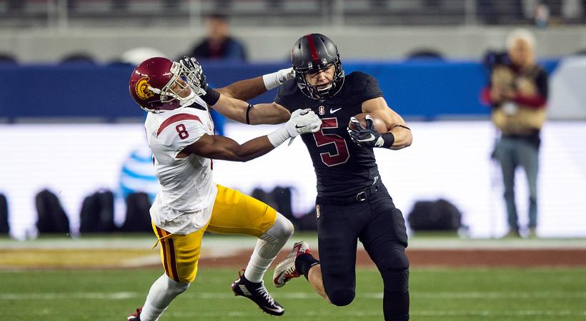2015 Pac-12 Football Championship Game: Stanford's Christian McCaffrey makes record-breaking Heisman case