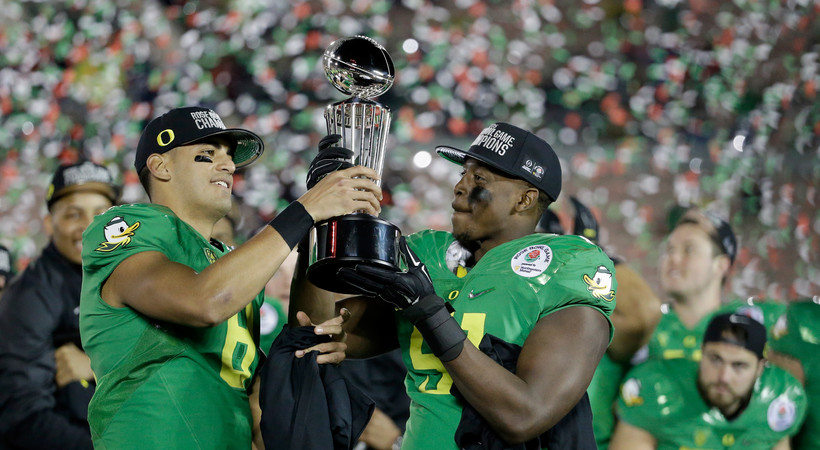 Relive Oregon football's path to the 2015 National Championship game
