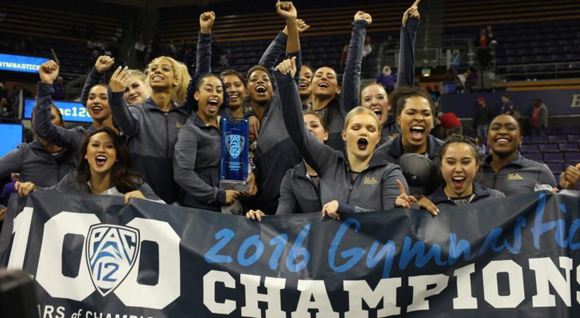 UCLA wins 2016 Pac-12 Gymnastics Championship