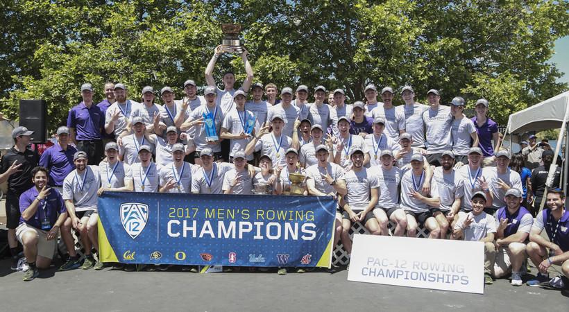 2017 Pac-12 Rowing Championships: 'Next level' effort propels Washington men's team to title