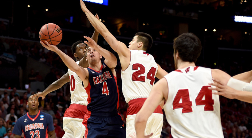 Highlights: Arizona men's basketball falls to Wisconsin in Elite 8 for second straight year