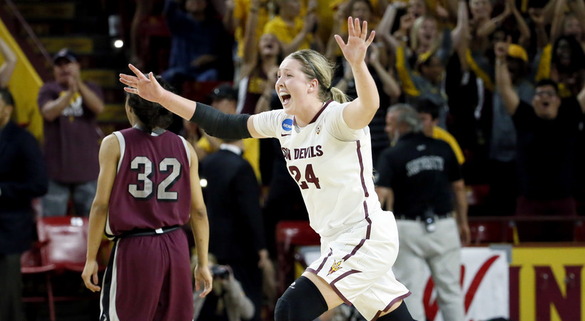 Highlights: Arizona State rallies past Arkansas-Little Rock for Sweet Sixteen berth