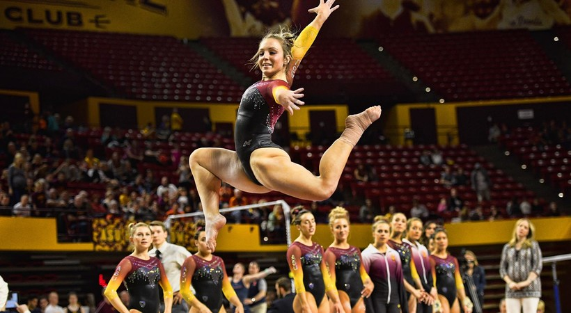 UCLA Bruins vs Arizona State Sun Devils Women's Gymnastics ...