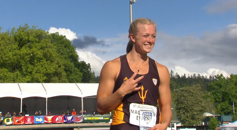 2017 Pac-12 Track & Field Championships: Arizona State's Maggie Ewen makes Pac-12 history with 3 individual championships