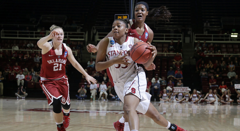 Highlights: Stanford women's basketball tops Oklahoma to reach Sweet 16 for 8th straight year