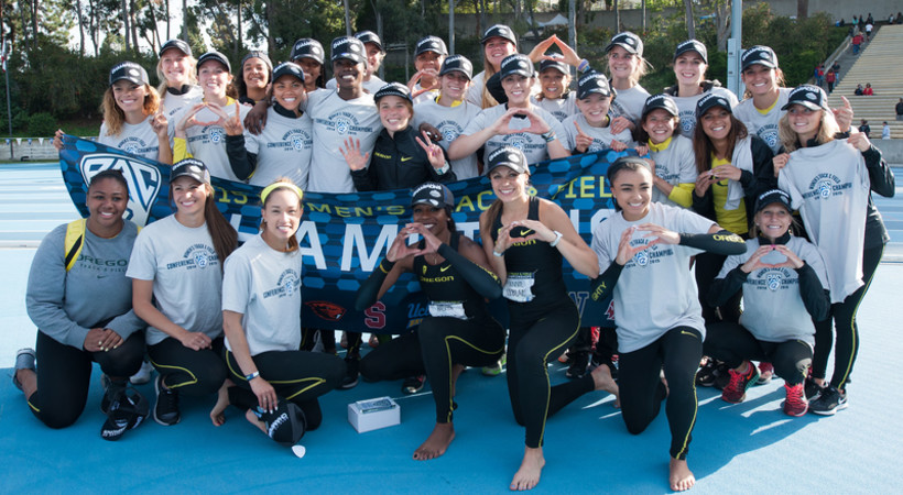 2015 Pac-12 Track and Field Women's Champions - Oregon